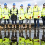 Courtyard by Marriott hotel at Keele University marks its topping out