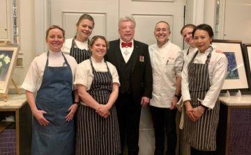 Michel Roux Jr and his all-female brigade raise over £40,000 for DEBRA