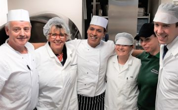 New hospital kitchen greeted with high praise from Prue Leith and Matt Hancock