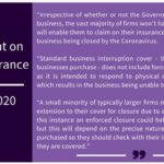 British Insurers statement on COVID-19 highlights 'almost zero' cover for hospitality businesses