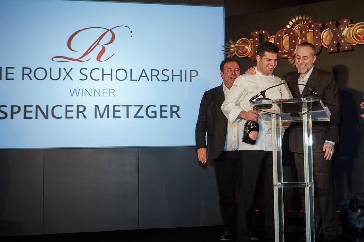 Roux Scholarship winner 2019, Spencer Metzger