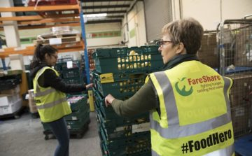 Whitbread facilitate 64,000 meals through food redistribution charity FareShare