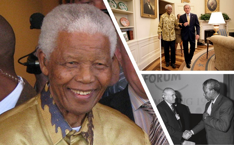 A trip down memory lane to meet Nelson Mandela with Richard Vines