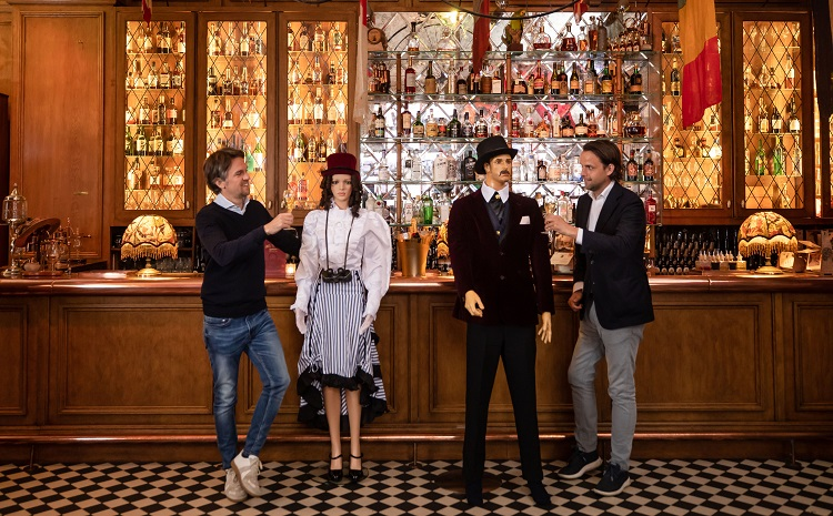 Applause for reopening on brand - at Mr Fogg's Residence
