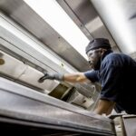 kitchen Ductwork extraction cleaning
