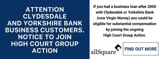 HOSPITALITY CLYDESDALE YORKSHIRE BANK