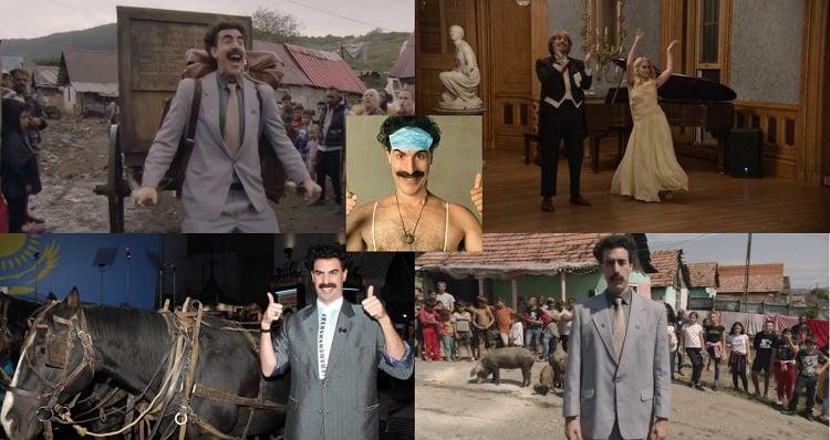 Kazakhstan Tourism adopt Borat