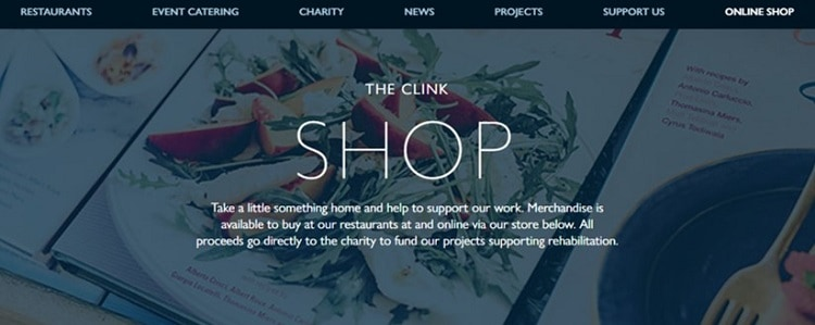 The Clink Shop Online