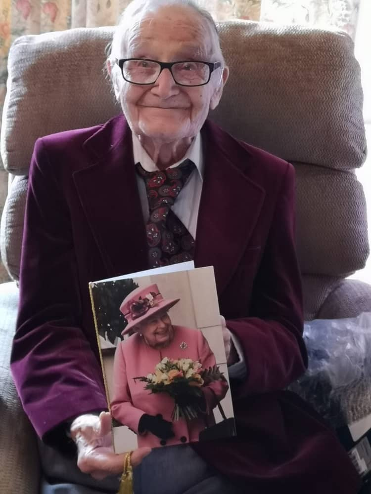 Catering author's 100th birthday