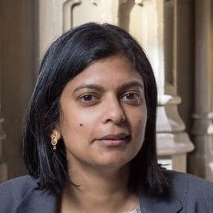 Dr Rupa Huq, Labour MP, Ealing Central and Acton