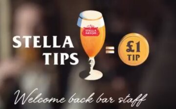 Stella Artois UK tipping bar staff £1 for every pint sold in pubs