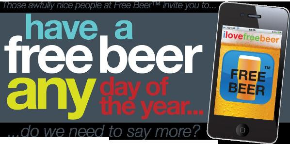 Free Beer: the App