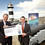 London brewer presents donation cheque to Seafarers UK charity