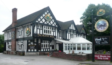 The Black Bull in Mansfield, Nottinghamshire - For Sale