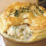 Electrolux Recipe of the Week, Craig Floate's Chicken and mushroom pie