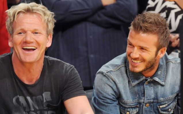 David Beckham set to open new restaurant with Gordon Ramsey