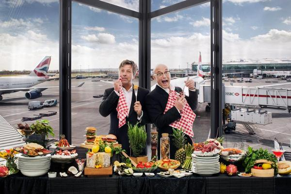 heathrow presents new challenge for john torode and gregg. Black Bedroom Furniture Sets. Home Design Ideas
