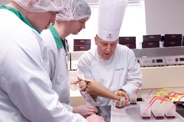 Intensive chocolate master class for Sodexo chefs