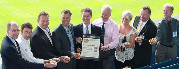 Portman Pie at Ipswich Town wins the league