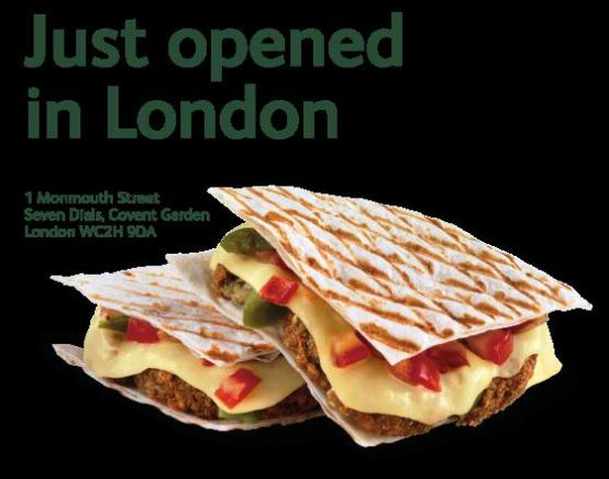 Just Falafel makes two appointments as UK operation expands