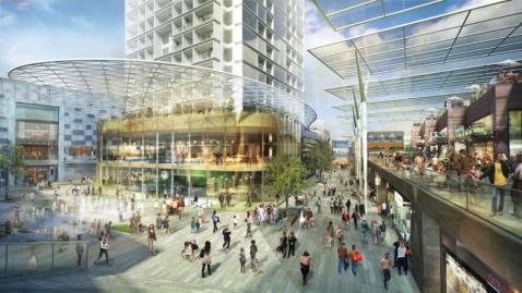 Croydon's £1bn redevelopment new restaurants and hotel