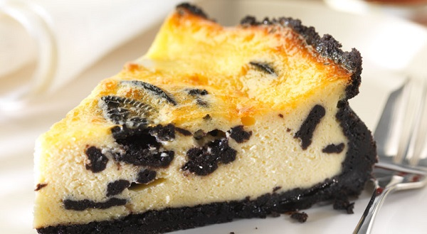 philadelphia recipe oreo baked cheesecake hospitality catering news. Black Bedroom Furniture Sets. Home Design Ideas