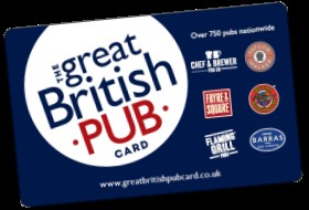 Spirit launches The Great British Pub Card