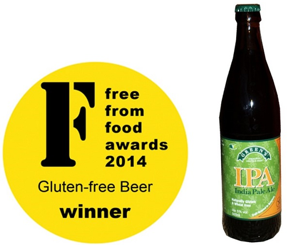 Green's Gluten Free Beers win at FreeFrom Food Awards 2014!
