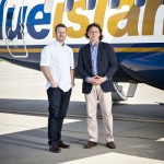 Shaun Rankin caters for Blue Islands