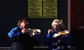 Stadium food is bottom of the league for sports fans