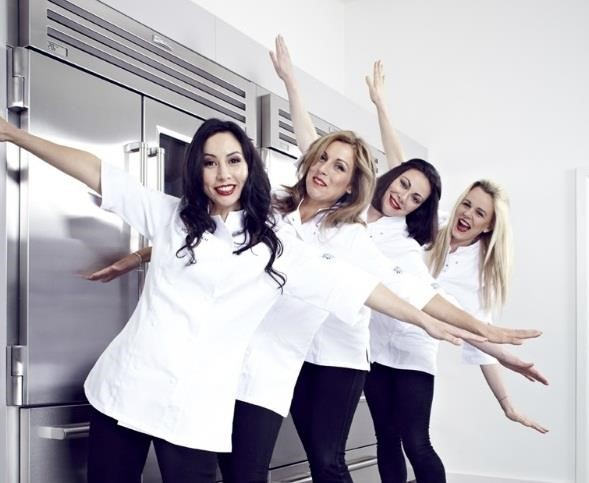 The Gorgeous Kitchen: 4 female British TV chefs