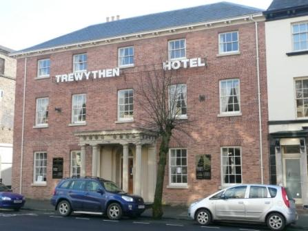 The former trewythen hotel in llanidloes is up for sale for Former hotel for sale
