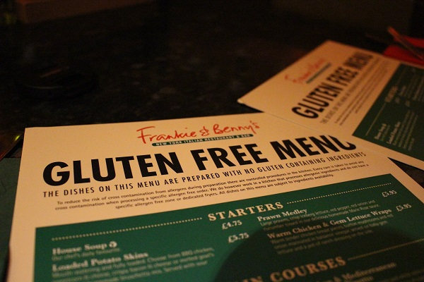 Using the term 'gluten free' or 'no gluten containing ingredients' – the Legal Implications