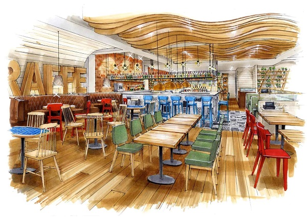 Giraffe set to open in milton keynes and york for Food bar giraffe